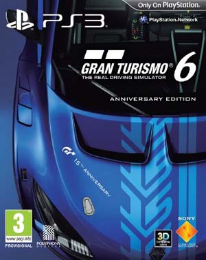 gran turismo 6 15th anniversary box